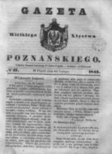 Gazeta Wielkiego Xięstwa Poznańskiego 1843.02.24 Nr47