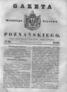 Gazeta Wielkiego Xięstwa Poznańskiego 1843.02.25 Nr48