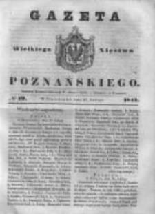 Gazeta Wielkiego Xięstwa Poznańskiego 1843.02.27 Nr49