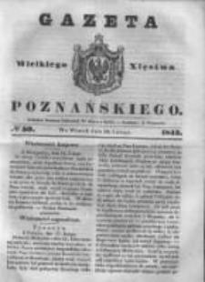 Gazeta Wielkiego Xięstwa Poznańskiego 1843.02.28 Nr50