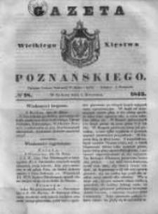 Gazeta Wielkiego Xięstwa Poznańskiego 1843.04.01 Nr78