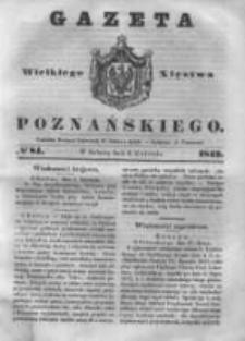 Gazeta Wielkiego Xięstwa Poznańskiego 1843.04.08 Nr84