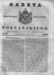 Gazeta Wielkiego Xięstwa Poznańskiego 1843.04.12 Nr87