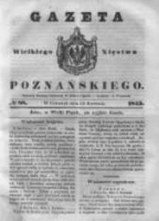 Gazeta Wielkiego Xięstwa Poznańskiego 1843.04.13 Nr88