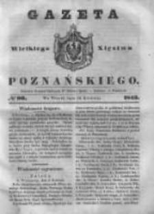 Gazeta Wielkiego Xięstwa Poznańskiego 1843.04.18 Nr90