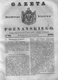 Gazeta Wielkiego Xięstwa Poznańskiego 1843.04.21 Nr93
