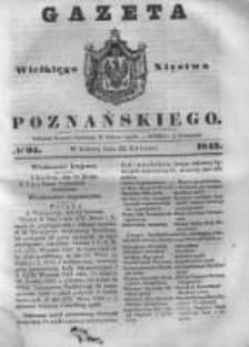 Gazeta Wielkiego Xięstwa Poznańskiego 1843.04.22 Nr94