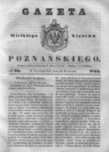 Gazeta Wielkiego Xięstwa Poznańskiego 1843.04.24 Nr95