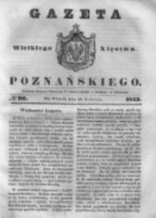 Gazeta Wielkiego Xięstwa Poznańskiego 1843.04.25 Nr96