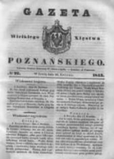 Gazeta Wielkiego Xięstwa Poznańskiego 1843.04.26 Nr97