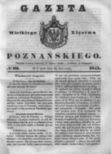Gazeta Wielkiego Xięstwa Poznańskiego 1843.04.28 Nr99