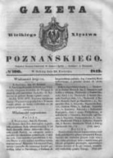 Gazeta Wielkiego Xięstwa Poznańskiego 1843.04.29 Nr100