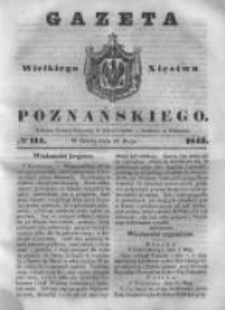 Gazeta Wielkiego Xięstwa Poznańskiego 1843.05.17 Nr114