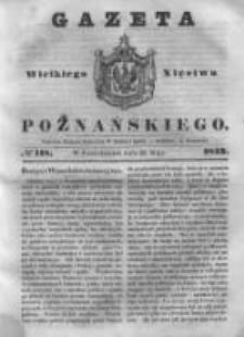 Gazeta Wielkiego Xięstwa Poznańskiego 1843.05.22 Nr118