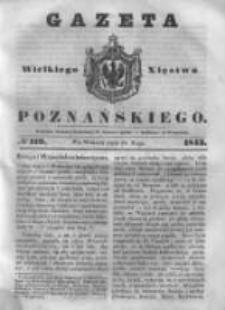 Gazeta Wielkiego Xięstwa Poznańskiego 1843.05.23 Nr119