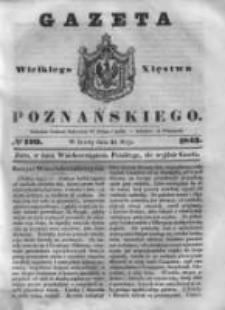 Gazeta Wielkiego Xięstwa Poznańskiego 1843.05.24 Nr120