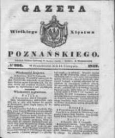 Gazeta Wielkiego Xięstwa Poznańskiego 1842.11.14 Nr266