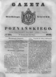 Gazeta Wielkiego Xięstwa Poznańskiego 1843.05.31 Nr125