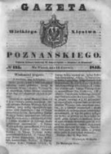 Gazeta Wielkiego Xięstwa Poznańskiego 1843.06.13 Nr135