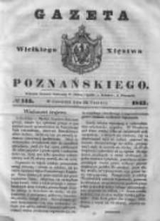 Gazeta Wielkiego Xięstwa Poznańskiego 1843.06.22 Nr143