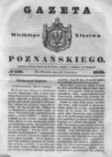 Gazeta Wielkiego Xięstwa Poznańskiego 1843.06.27 Nr147