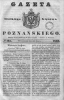 Gazeta Wielkiego Xięstwa Poznańskiego 1843.07.13 Nr161
