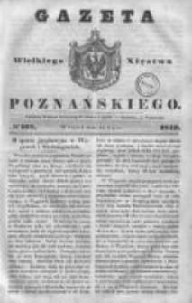 Gazeta Wielkiego Xięstwa Poznańskiego 1843.07.14 Nr162