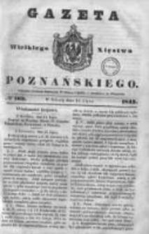 Gazeta Wielkiego Xięstwa Poznańskiego 1843.07.15 Nr163