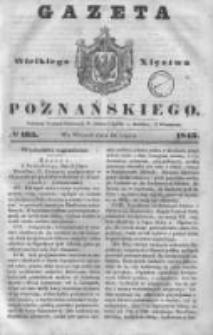 Gazeta Wielkiego Xięstwa Poznańskiego 1843.07.18 Nr165