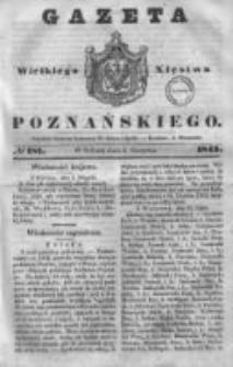 Gazeta Wielkiego Xięstwa Poznańskiego 1843.08.05 Nr181