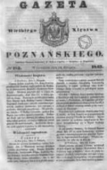 Gazeta Wielkiego Xięstwa Poznańskiego 1843.08.10 Nr185