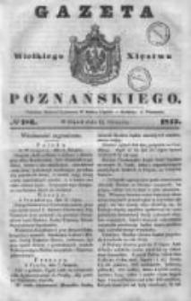 Gazeta Wielkiego Xięstwa Poznańskiego 1843.08.11 Nr186