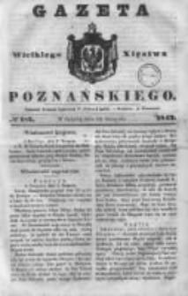 Gazeta Wielkiego Xięstwa Poznańskiego 1843.08.12 Nr187