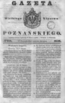 Gazeta Wielkiego Xięstwa Poznańskiego 1843.08.14 Nr188