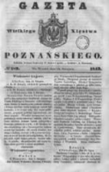 Gazeta Wielkiego Xięstwa Poznańskiego 1843.08.15 Nr189