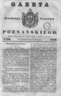 Gazeta Wielkiego Xięstwa Poznańskiego 1843.08.17 Nr191