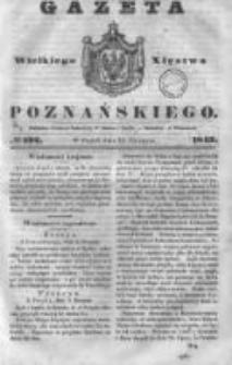 Gazeta Wielkiego Xięstwa Poznańskiego 1843.08.18 Nr192