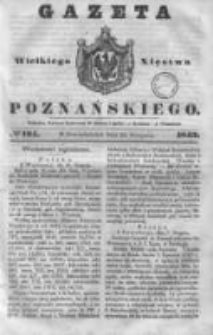 Gazeta Wielkiego Xięstwa Poznańskiego 1843.08.21 Nr194
