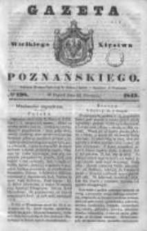 Gazeta Wielkiego Xięstwa Poznańskiego 1843.08.25 Nr198