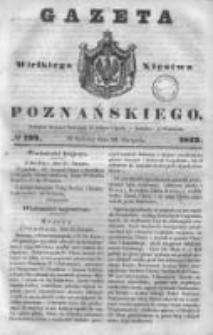 Gazeta Wielkiego Xięstwa Poznańskiego 1843.08.26 Nr199