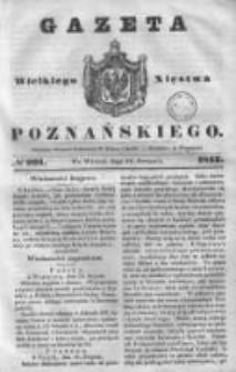 Gazeta Wielkiego Xięstwa Poznańskiego 1843.08.29 Nr201