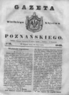 Gazeta Wielkiego Xięstwa Poznańskiego 1843.01.13 Nr11