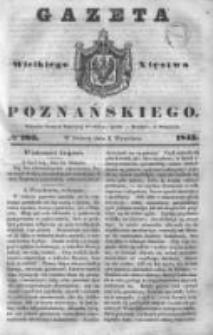 Gazeta Wielkiego Xięstwa Poznańskiego 1843.09.02 Nr205