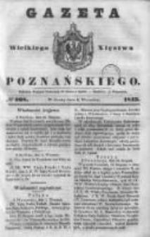 Gazeta Wielkiego Xięstwa Poznańskiego 1843.09.06 Nr208