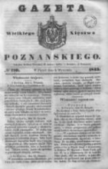 Gazeta Wielkiego Xięstwa Poznańskiego 1843.09.08 Nr210