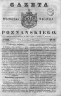 Gazeta Wielkiego Xięstwa Poznańskiego 1843.09.09 Nr211