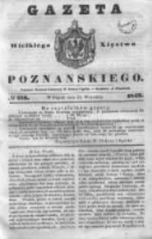 Gazeta Wielkiego Xięstwa Poznańskiego 1843.09.15 Nr216