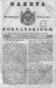 Gazeta Wielkiego Xięstwa Poznańskiego 1843.08.09 Nr184