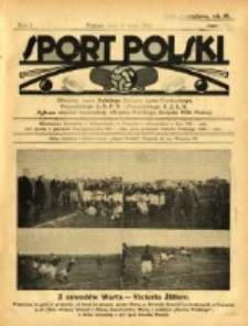 Sport Polski: oficjalny organ Polskiego Związku Lawn-Tenisowego, Poznańskiego Z. O. P. N. i Poznańskiego O. Z. L. A.: ogłasza również komunikaty oficjalne Polskiego Związku Piłki Nożnej 1922.05.27 R.2 Z.12