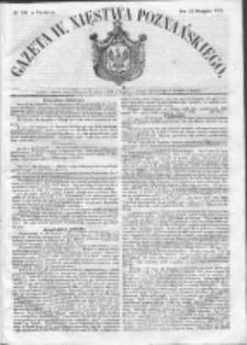 Gazeta Wielkiego Xięstwa Poznańskiego 1852.08.22 Nr196